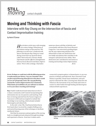 Moving and Thinking with Fascia
