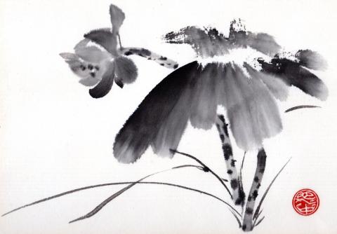 My Embodiment of Chinese Brush Painting